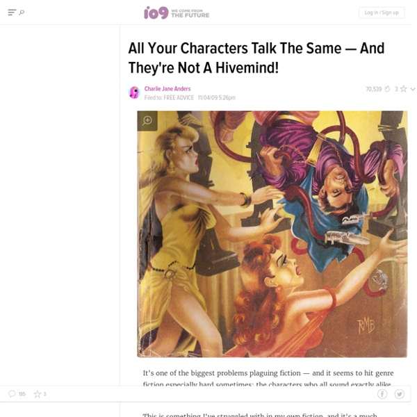 Do All Your Characters Talk The Same?