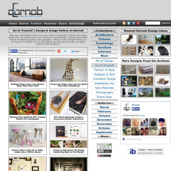 Design Idea & Image Galleries on Dornob