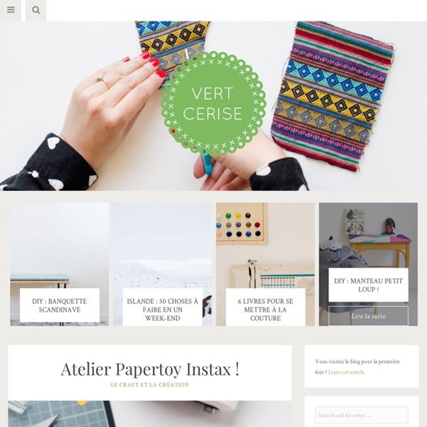 Blog féminin, créatif et très DIY (do it yourself)