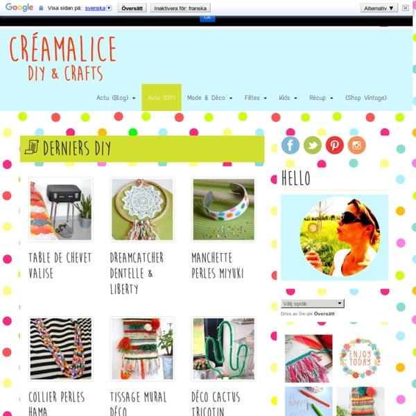 Créamalice: loisirs créatifs, activités manuelles & DIY