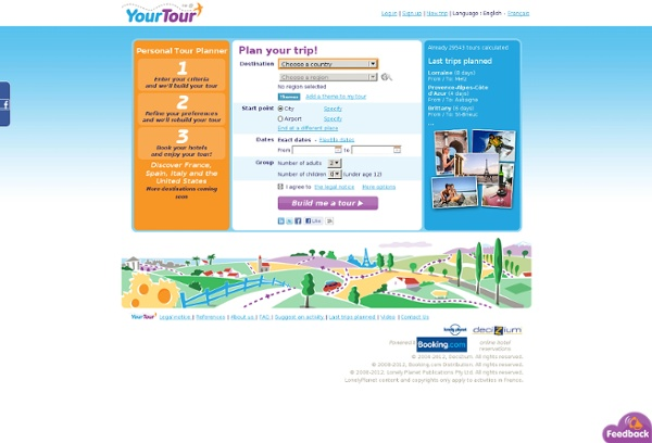 YourTour - Personal Tour Planner