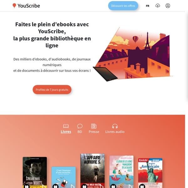 YouScribe - Publication, Partage, Vente de documents et d'ebooks
