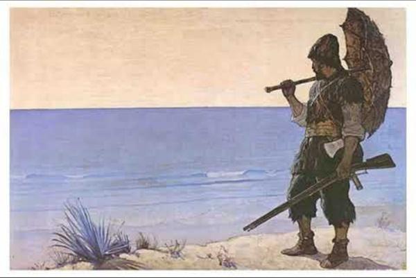 Robinson Crusoé raconté par Claude Rich - Livre Audio