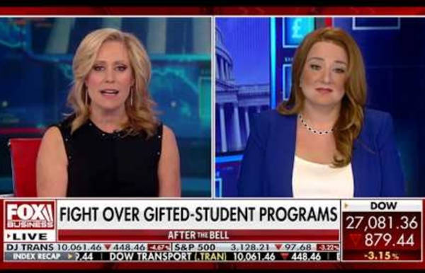 Frances Kweller Speaks on Fox News on The Fight Over Gifted Student Programs