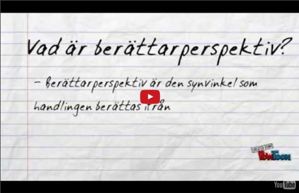 Berättarperspektiv i noveller av Fröken JE