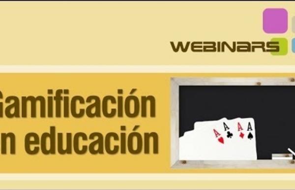 Webinar sobre gamificación en educación formal