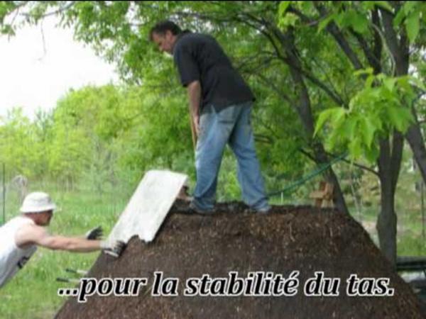 Projet Jean Pain - chauffe-eau avec compost