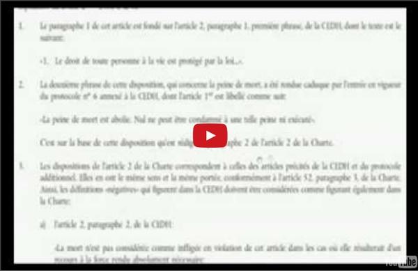 La loi martiale en Europe et le traité de lisbonne part 1