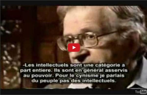 Réponses simples à 10 questions compliquées de Noam Chomsky (à voir)