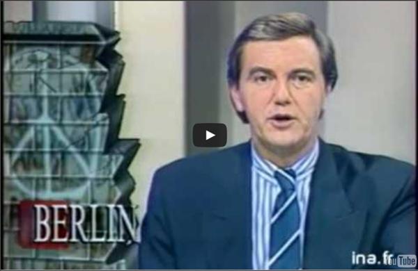 9 novembre 1989 - Chute du Mur de Berlin - Antenne 2