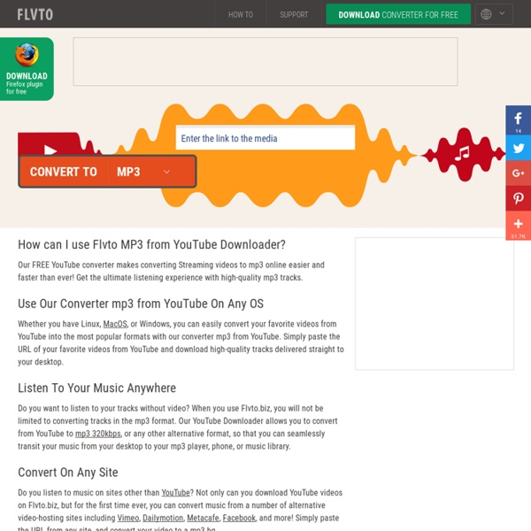 YOUTUBE TO MP3 CONVERTER - CONVERT YOUTUBE VIDEOS TO MP3