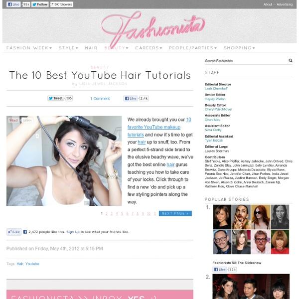 The 10 Best YouTube Hair Tutorials
