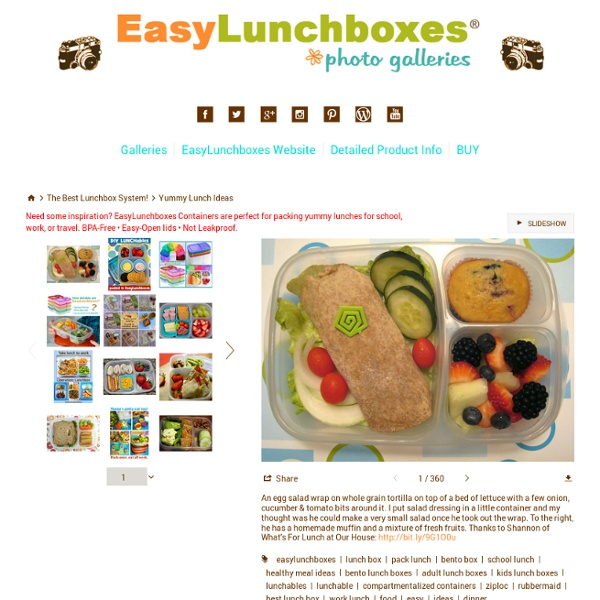 yummy lunch ideas yummy lunch box gallery easy lunch boxes bento lunches pearltrees. Black Bedroom Furniture Sets. Home Design Ideas