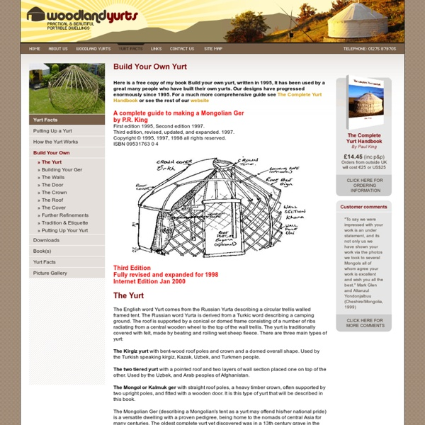Yurt Buildng