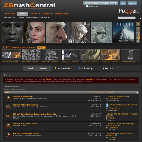 ZBrushCentral
