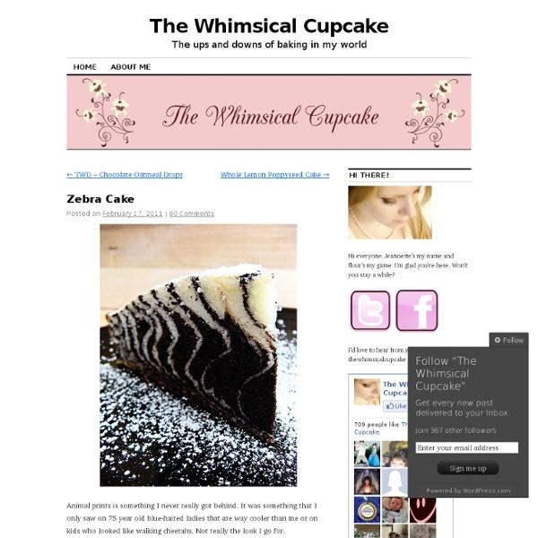 The Whimsical Cupcake
