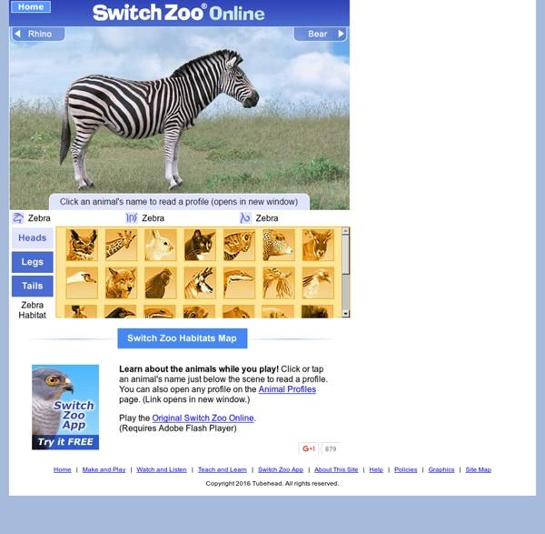 Zebra Habitat