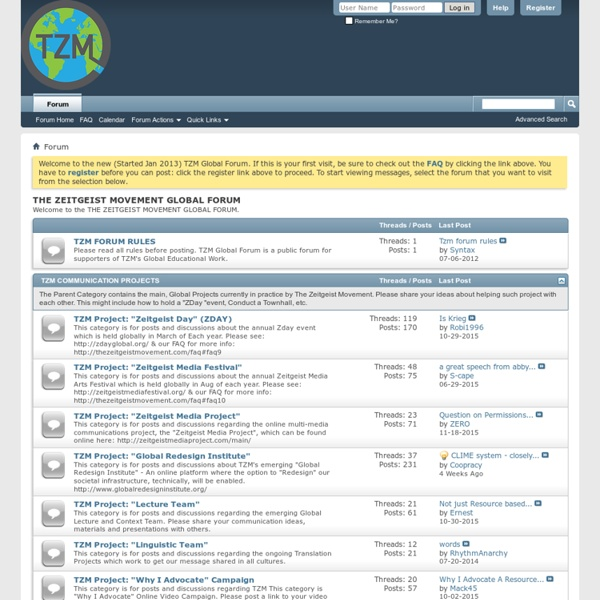TZM UK Forums