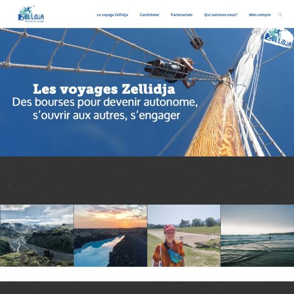 La fondation Zellidja attribue chaque année des bourses de voyages à des jeunes désireux d'effectuer seuls un voyage d'étude