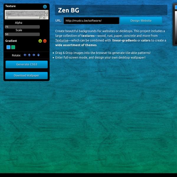 ZenBG—Background Generator