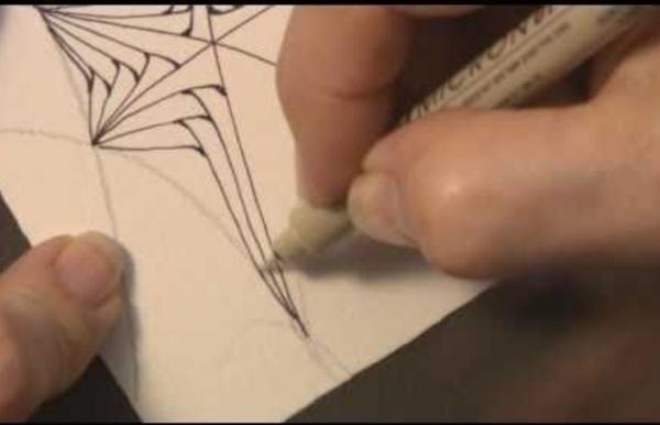 Zentangle's Betweed