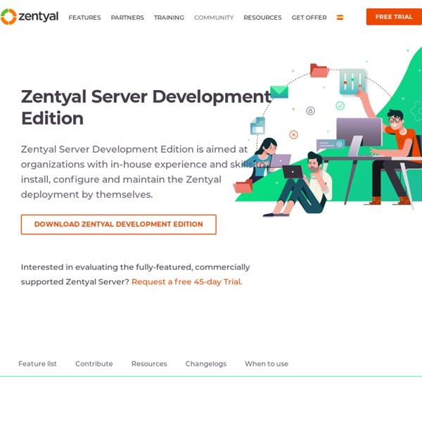 Zentyal - The Linux Small Business Server