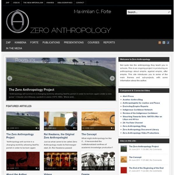 Zero Anthropology Project