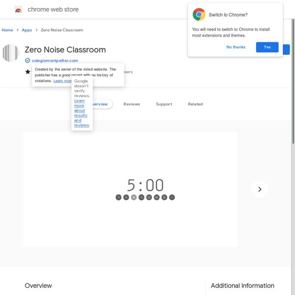 Zero Noise Classroom