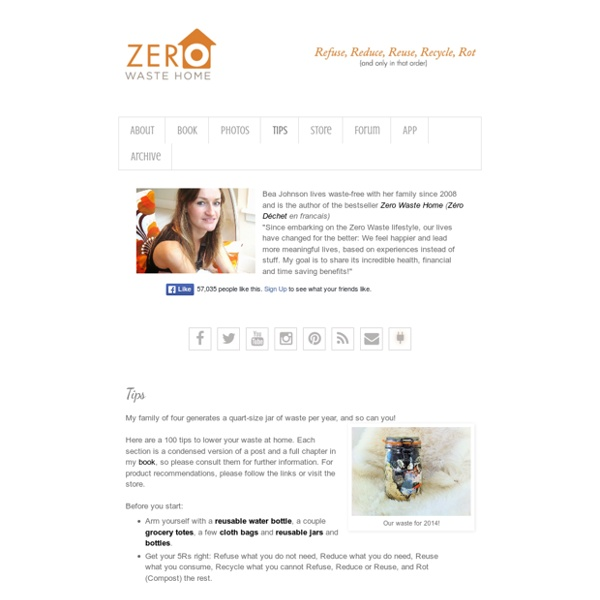 Zero Waste Home: Tips