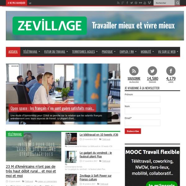 - Zevillage : télétravail, coworking et travail à distance