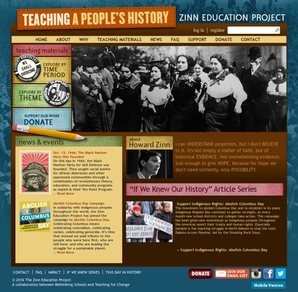 Zinn Education Project