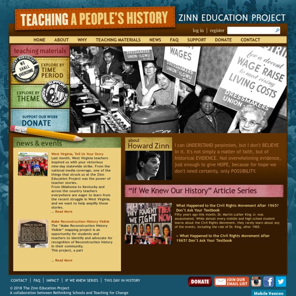 Zinn Education Project