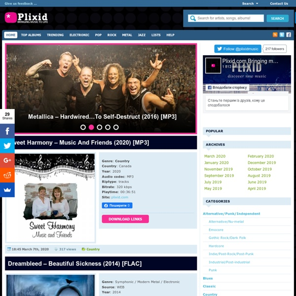 Bringing music to life - Download free music albums mp3 - Mediafire, Rapidshare, Torrent, Zippyshare, Uploaded