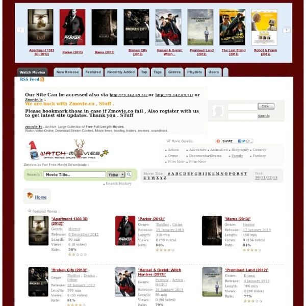 Zmovie - Watch Movies online for free on zmovie.tv