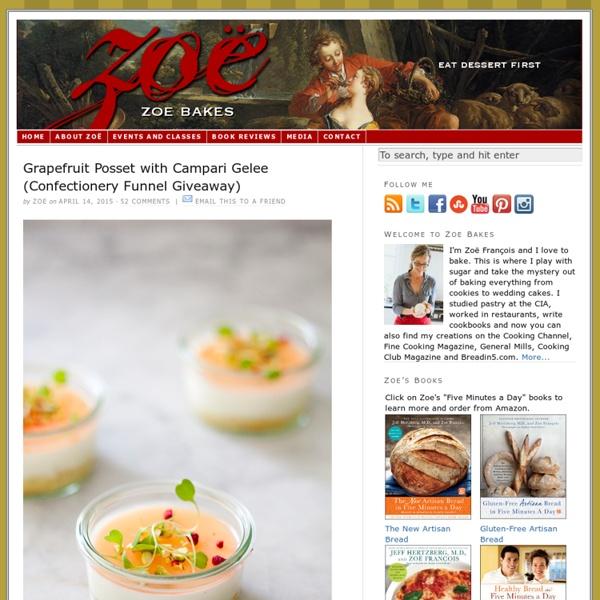 Zoe Bakes — Eat dessert first