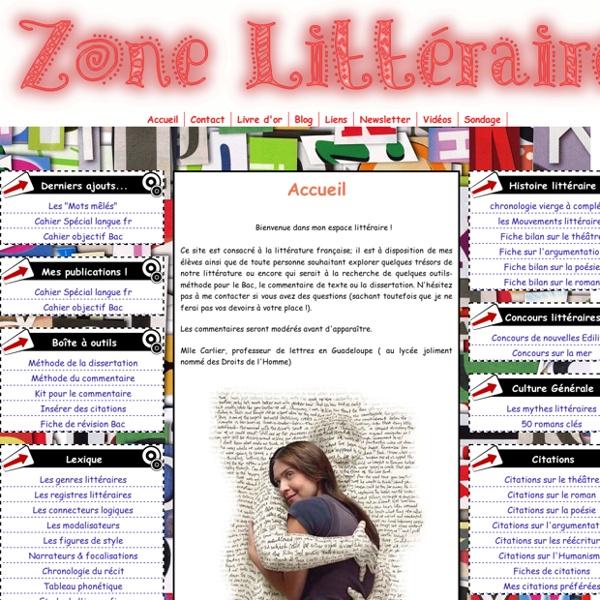 Zone littéraire