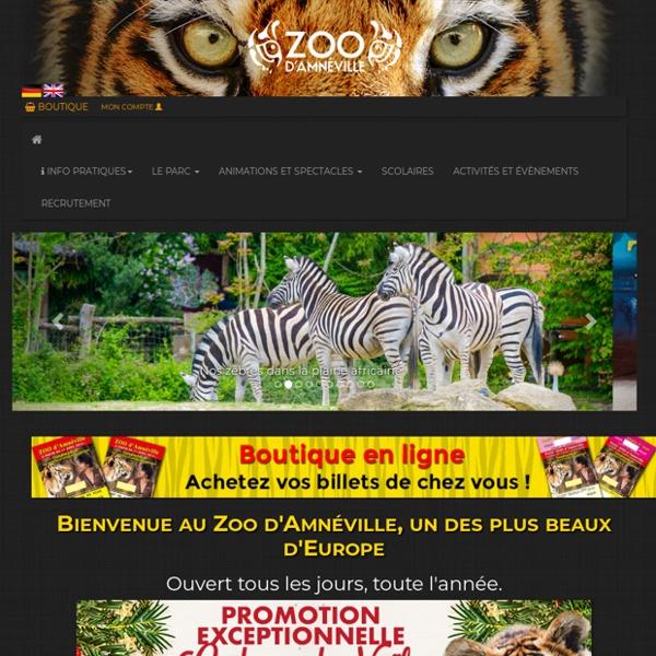 Zoo d'Amnéville, un des plus beaux d'europe, plus de 2000 animaux des 5 continents