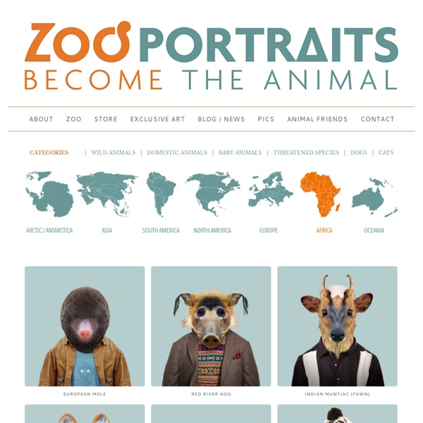 Zoo Portraits - Become the Animal