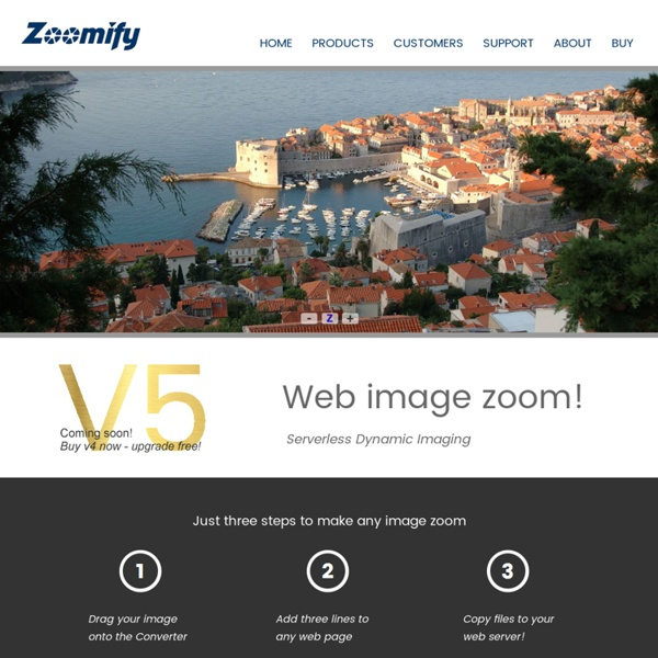 Zoomify—Zoomable web images!