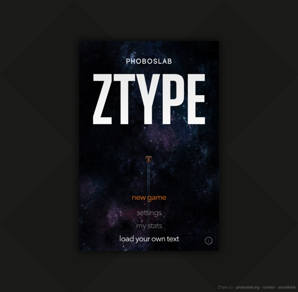 ZType – Tape et Tire