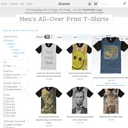 40,000+ Men's All-Over Print T-Shirts