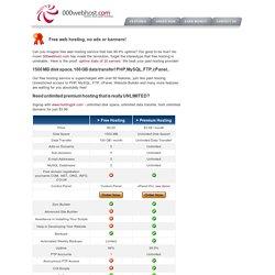 Бесплатный Веб-Хостинг с PHP, MySQL и cPanel без рекламы