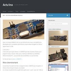 005 - Un Stick USB Arduino pour 2€