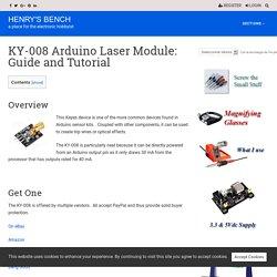 KY-008 Arduino Laser User Manual