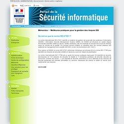 01. Qu'est-ce que la norme ISO 27001 ?