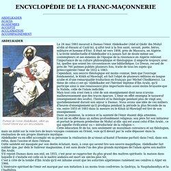 ENCYCLOPÉDIE DE LA FRANC-MAÇONNERIE (électronique français)