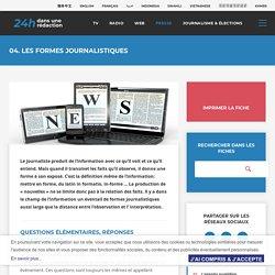 04. Les formes journalistiques