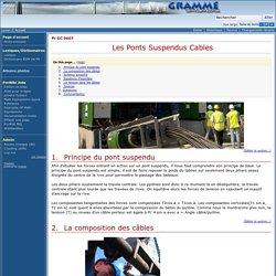 Pr GC 0607 - Les Ponts Suspendus Cables