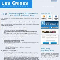» 0622 Historique du PIB de la France
