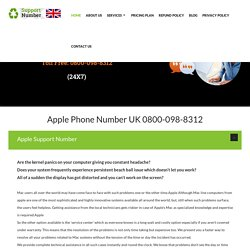Apple Help Number UK